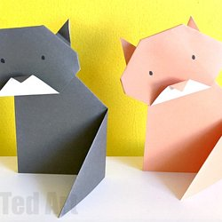24 Holiday Themed Origami Models to Fill You with Christmas Spirit | 250x250