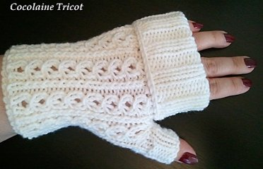 Mitaine en tricot facile - Modele mitaine tricot facile ...
