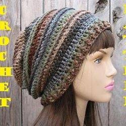 Crochet Hat - Slouchy Hat 0030cd3ee28