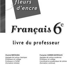 Livre De Francais 6eme Fleur Dencre Pdf Vinny Oleo Vegetal Info