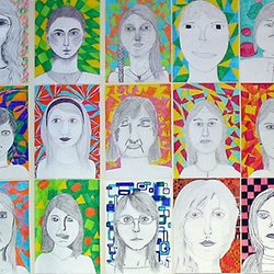 5 6 Art Ideas Portrait For Older Kids