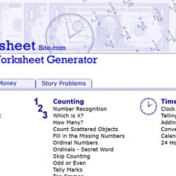 math worksheet : the math worksheet site pearltrees : The Math Worksheet