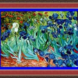 Vidéo 2270 : A La Manière De Vincent Van Gogh   Peintre Impressionniste.