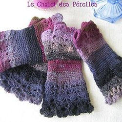 Mitaines Au Crochet Pearltrees