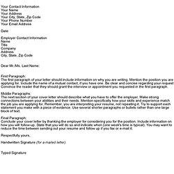 Vfx Cover Letter