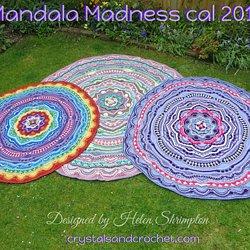 98ae46cf1ce Mandala Madness pattern by Helen Shrimpton