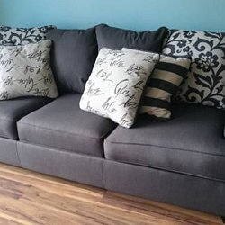 SOFA BED Levon Charcoal Queen