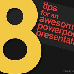 8 tips for an awesome powerpoint presentation | pearltrees, Powerpoint templates