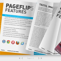 Free jQuery & HTML5 Flip Book Maker For Online 3D Page Turning Book