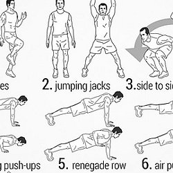 100 no-equipment workouts | Pearltrees