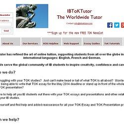 ib tok essay deadline 2014