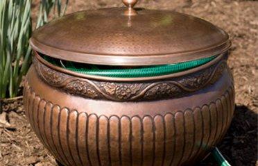 Fl Copper Hose Pot And Lid